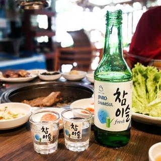 女性にも大人気の韓国焼酎(ソジュ)のチャミスルって?