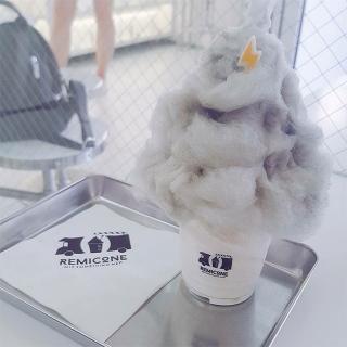 かみなり雲のアイスが食べられる?!研究室のような店内の「REMICONE(レミコン)」@東大門