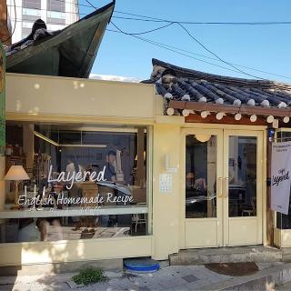 韓屋をリノベーションしたカフェで朝食を♡「Layered (レイオドゥ)」