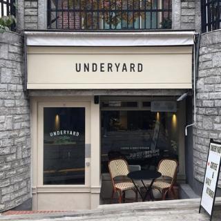 オールドアメリカンで落ち着きのある店内で人気のカフェ「underyard Hannam (アンダーヤード・カンナム)」