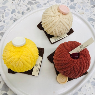 毛糸玉のようなモンブランケーキはいかが?「Le montblanc(ル・モンブラン)」@おしゃれエリア梨泰院(イテウォン)