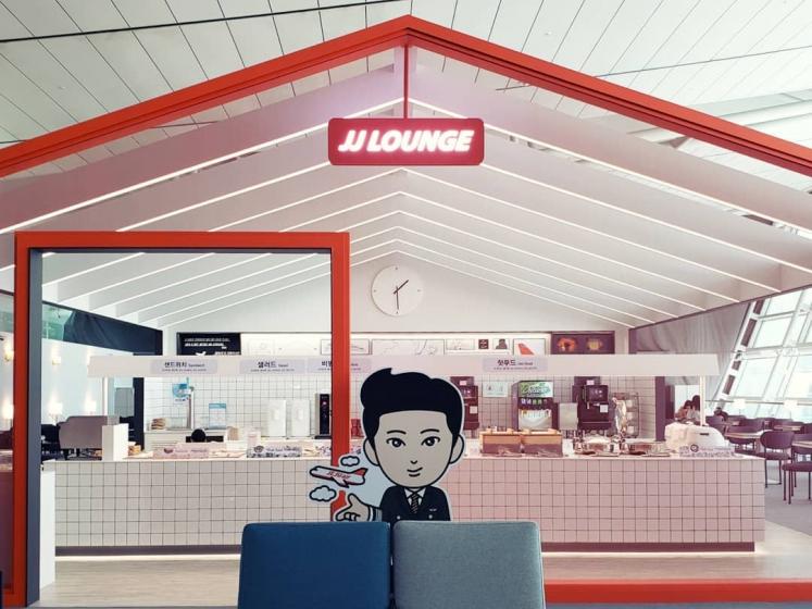 チェジュ航空(Jeju Air)のJJラウンジ