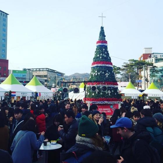 2019年12月ソウルイベントの「ユーロピアン クリスマスマーケット」画像