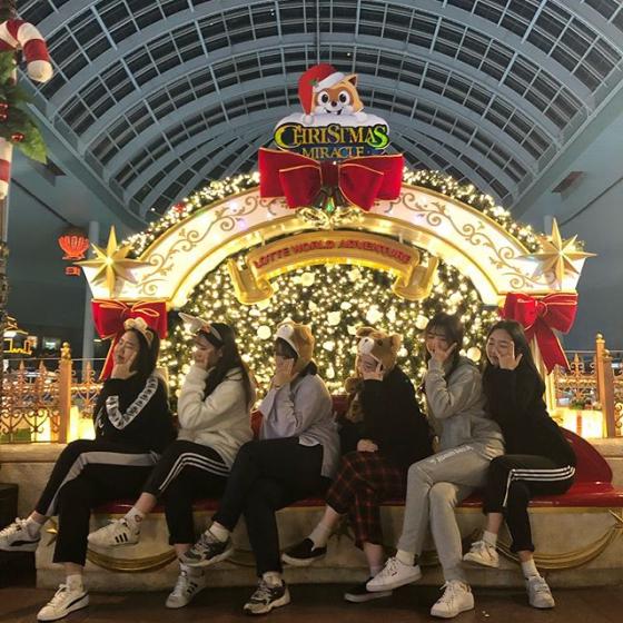 2019年12月ソウルイベントの「ロッテワールド クリスマスミラクル」画像
