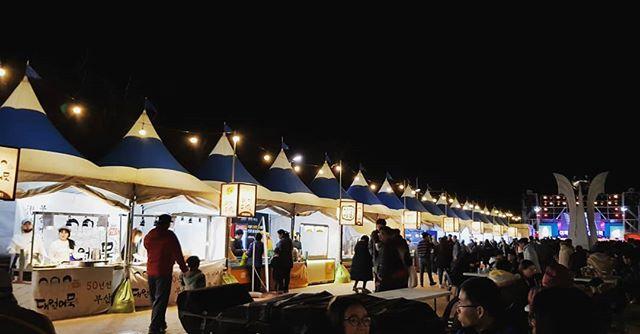 2019年12月釜山 オムク祭り 画像