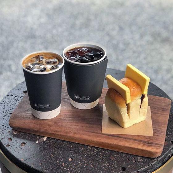 益善洞(イクソンドン)にあるSEOUL COFFEE(ソウルコーヒー/서울커피) 앙버터 식빵(アンバター食パン) 画像