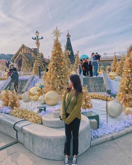 2019年12月ソウルイベントの「エバーランド ゴールデン イルミネーション」画像