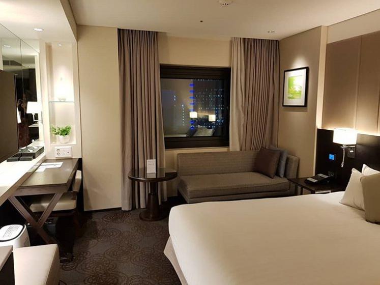 ソラリア西鉄ホテルソウル明洞の部屋の画像