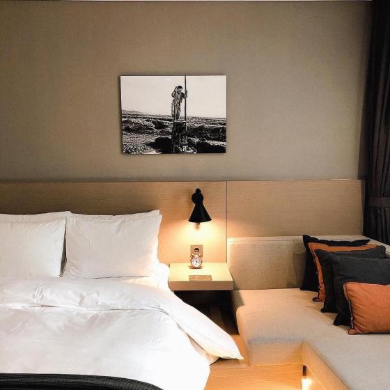 Hotel28 明洞のベッドルームの画像