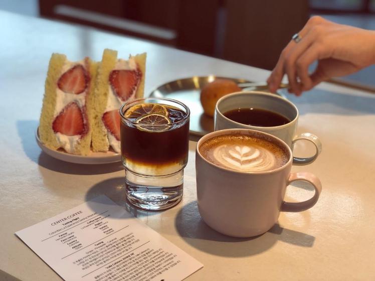 明洞(ミョンドン)にあるCENTER COFFEE(センターコーヒー)の画像3