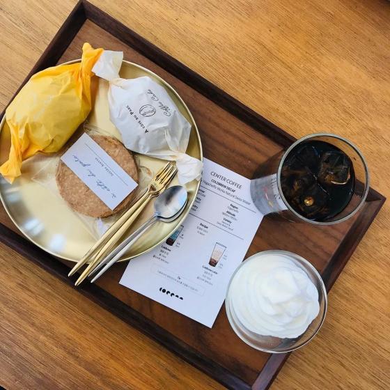 明洞(ミョンドン)にあるCENTER COFFEE(センターコーヒー)の画像2