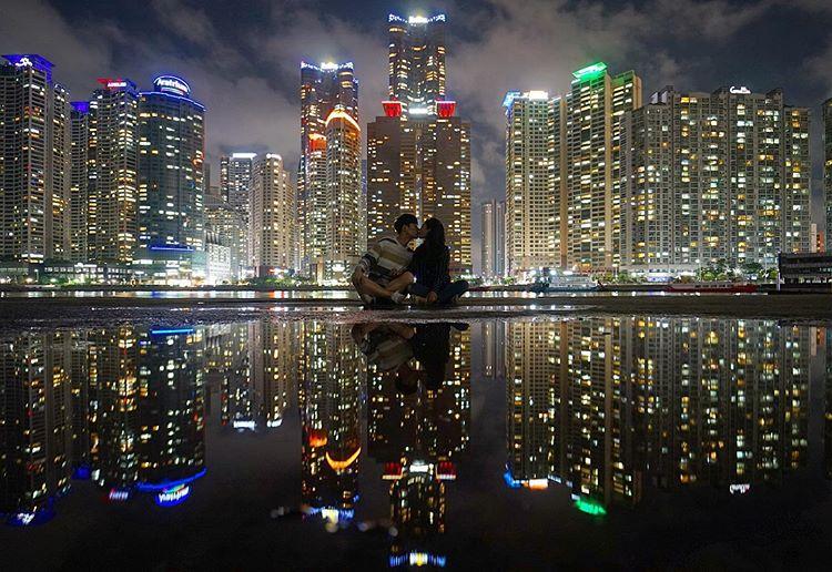釜山(プサン)のおすすめ夜景スポット The Bay 101 (ザ・ベイ 101) の画像