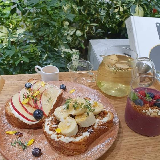 明洞(ミョンドン)にあるInnisfree Green Cafe(イニスフリーグリーンカフェ/ 이니스프리 그린 카페)の商品画像