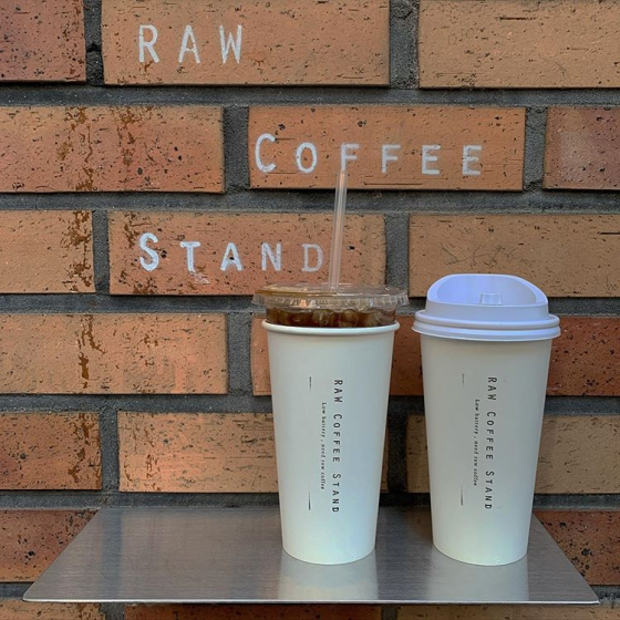 聖水洞(ソンスドン)にあるrawcoffeestand(ロウコーヒースタンド)の画像2
