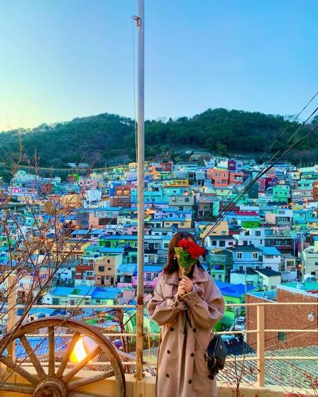 釜山(プサン)のおすすめ夜景スポット 甘川(カムチョン)文化村 の画像2