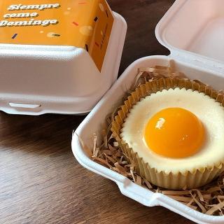 厚岩洞(フアムドン)のお洒落カフェ「SIEMPRE COMO DOMINGO(シエンプレ コモ ドミンゴ)」は卵がモチーフの隠れホットスポット?