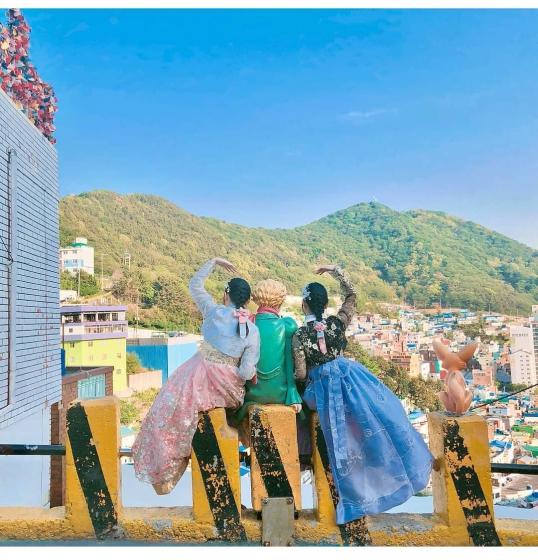 甘川洞文化村のチマチョゴリショップ韓服イッチッの画像