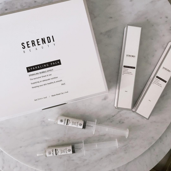 SERENDI beauty(セレンディビューティー)のスパークリングパックの画像