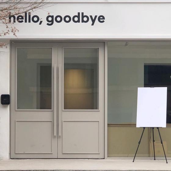 ソウルでカップルにおすすめのカフェhello,goodbye(ハロー、グッバイ)の画像