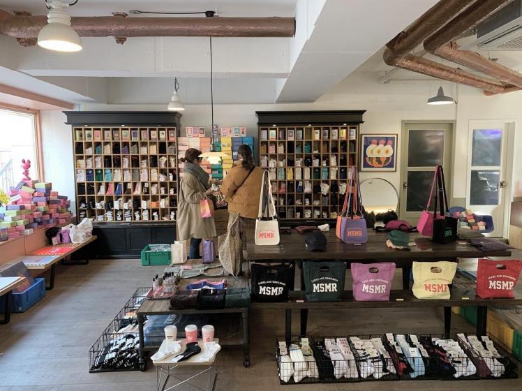 韓国のオリジナルブランドの靴下屋さんMSMR(ミスミスター)の画像