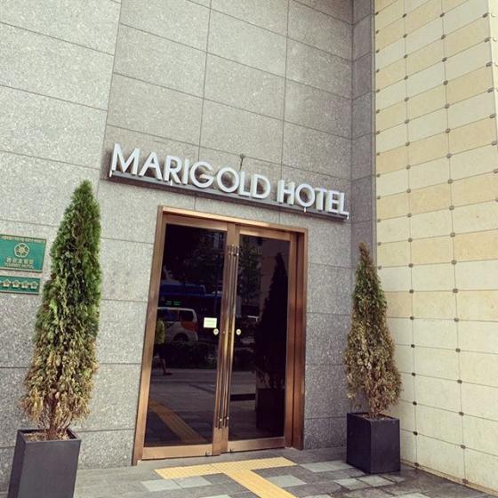 弘大(ホンデ)で安くておすすめのコスパのいいホテル「MARIGOLD HOTEL (マリーゴールドホテル)」の画像