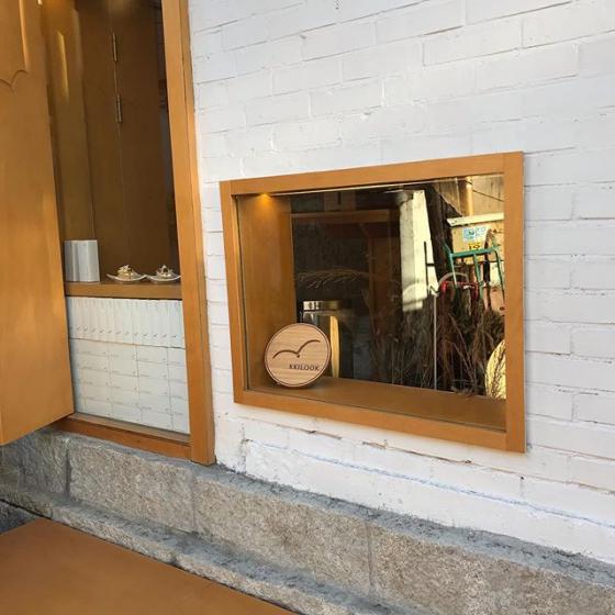 益善洞(イクソンドン) で人気のカフェkkilook house(끼룩 하우스/ッキルックハウス)の画像