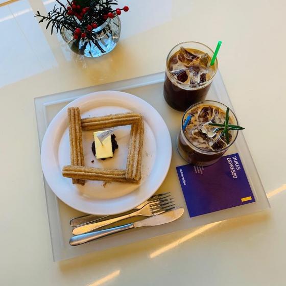 明洞(ミョンドン)で人気のフォトジェニックカフェvacances coffee(バカンセスコーヒー)の画像3