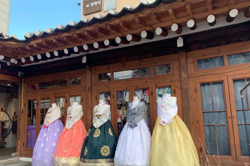 景福宮(キョンボックン)にあるチマチョゴリレンタル屋さん「クルミ韓服」の画像