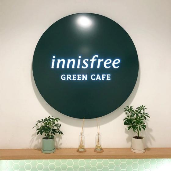 明洞(ミョンドン)で人気のフォトジェニックカフェinnisfree Green Cafe(イニスフリーグリーンカフェ)の画像4