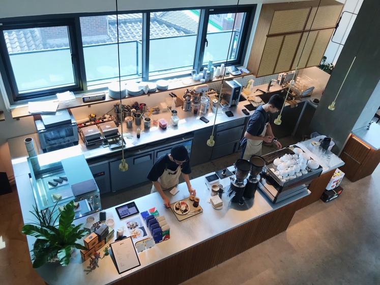 ソンリダンギルにあるPRES COFFEE(プレスコーヒー)の画像2