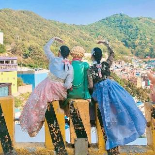 チマチョゴリ体験をしよう!釜山(プサン)の甘川洞文化村(カムチョンドンムナマウル)でおすすめレンタルショップまとめ!