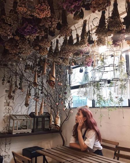 ソウルのフラワーカフェ「ARRIATE」の画像2
