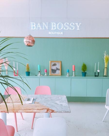 ソウルのフラワーカフェ「BAN BOSSY BOUTIQUE」の画像
