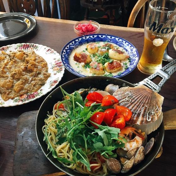 ソウルのおすすめシーフードレストラン「BADA PASTA(バダパスタ)@弘大(ホンデ)」の画像4