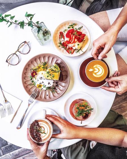 弘大(ホンデ)にあるフルーツが美味しいカフェ「Clarte Cafe(クラルテカペ)」の画像