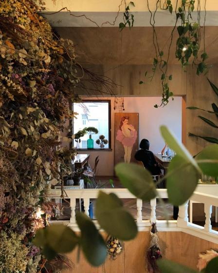 ソウルのフラワーカフェ「VER'S GARDEN」の画像