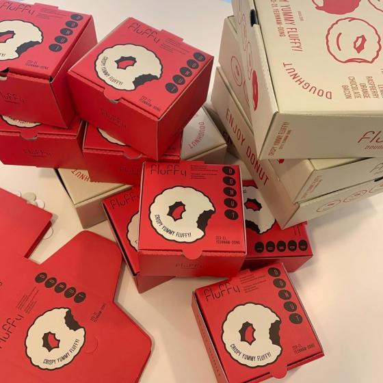 弘大(ホンデ)の人気定番カフェ「Fluffy doughnut(フラッフィードーナツ)」の画像5
