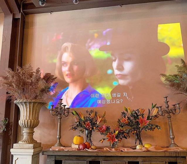 ソウルのフラワーカフェ「Colline」の画像3