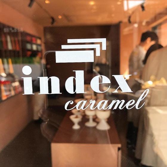 聖水洞(ソンスドン)にあるショッピング複合施設の聖水連邦(ソンスヨンバン)にある「Index caramel(インデックキャラメル)」の画像