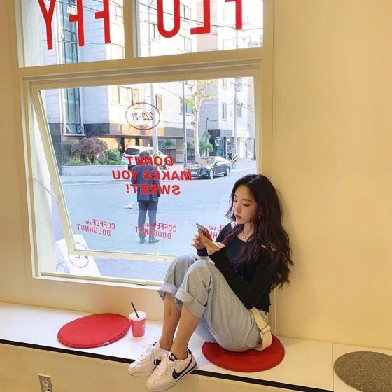 弘大(ホンデ)の人気定番カフェ「Fluffy doughnut(フラッフィードーナツ)」の画像2