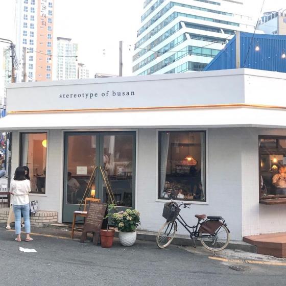 釜山(プサン)の若者人気エリア・西面(ソミョン)のカフェ「stereotype of busan(ステレオタイプ オブ プサン)」の画像3
