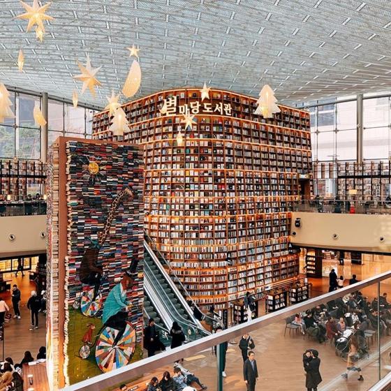 韓国ソウルで人気の本屋さん「 ピョルマダン図書館 」の画像2
