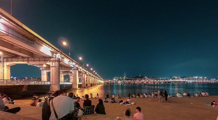 カップルで韓国旅行におすすめのデートスポット「盤浦漢江公園(バンポハンガンコウウォン)」の画像2