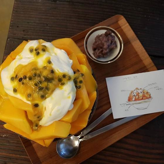 カロスキルにあるフルーツが美味しいカフェ「ダンオク」の画像2