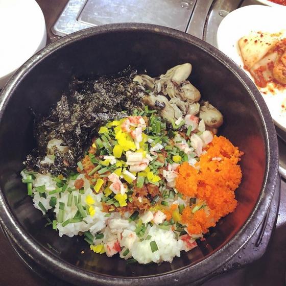 ソウルのおすすめシーフードレストラン「南海牡蠣クッパ(ナメクルクッパ)@東大門(トンデムン)」の画像3