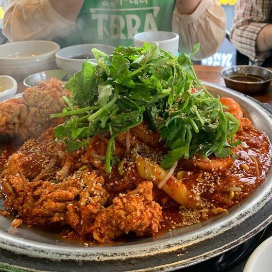 ソウルのおすすめシーフードレストラン「アルプジャ@江南(カンナム)」の画像