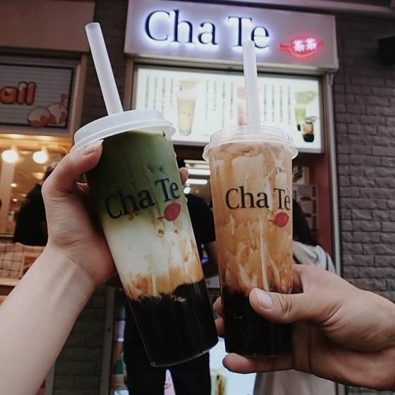 新大久保で人気のタピオカ屋さん「  Cha Te(チャテ)  」の画像