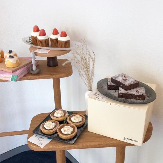 延南洞(ヨンナムドン)のおしゃれカフェ「comingcake(カミングケーキ)」の画像4