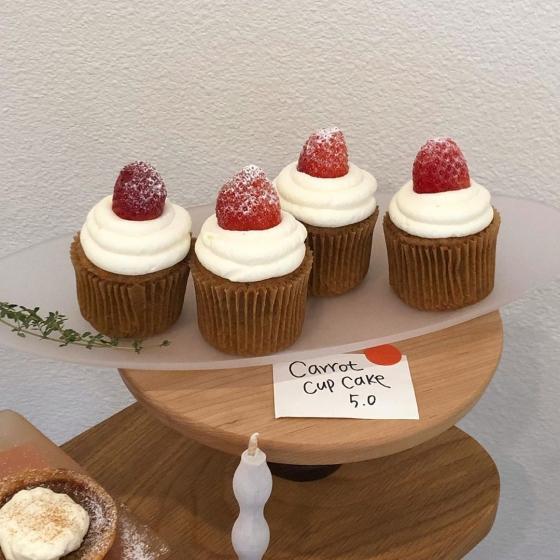 延南洞(ヨンナムドン)のおしゃれカフェ「comingcake(カミングケーキ)」の画像5