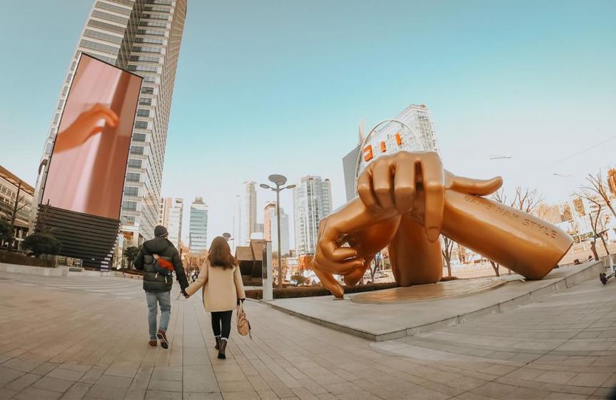 カップルで韓国旅行におすすめのデートスポット「COEX MALL(コエックスモール)」の画像2